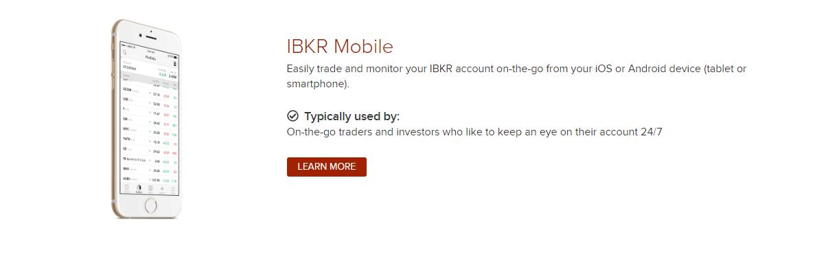 interactive brokers mobile platform