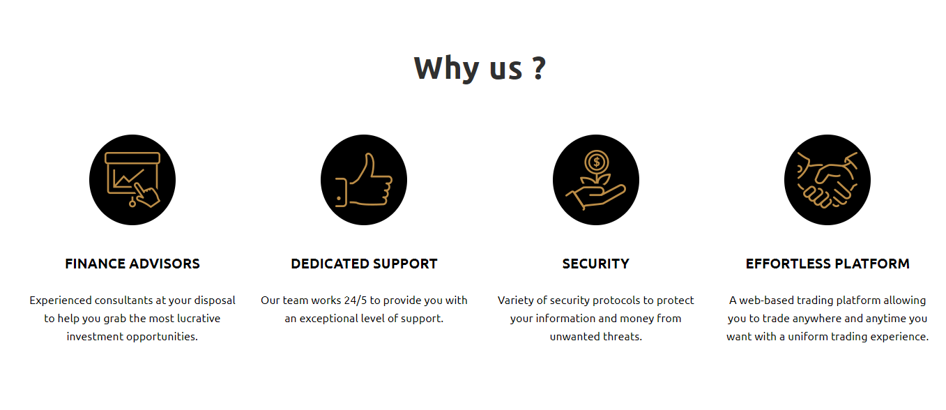 Eiro-Group trading features